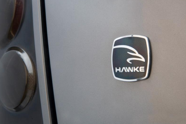 Land Rover Discovery  'HAWKE' Vitreous Enamelled Badge